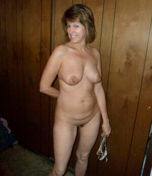mature blonde naked