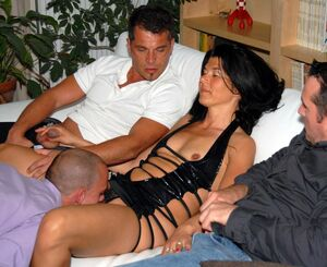 mom son threesome