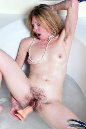 small tit mature woman