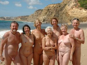 nudist beach moms