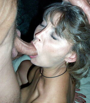 middle aged blowjob