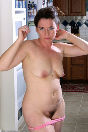 hairy mature nudist