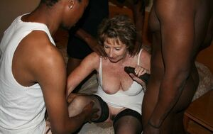 granny interracial cuckold